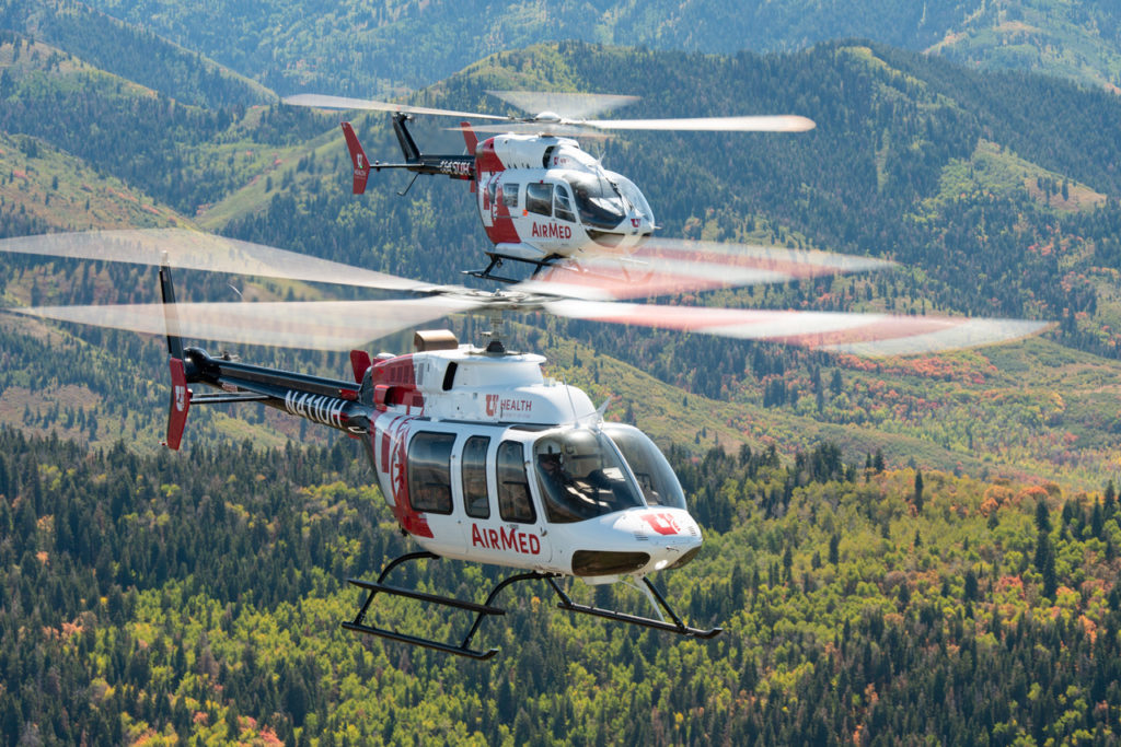 AirMed is one of the oldest air medical programs in the country, established over 40 years ago. Dan Megna Photo