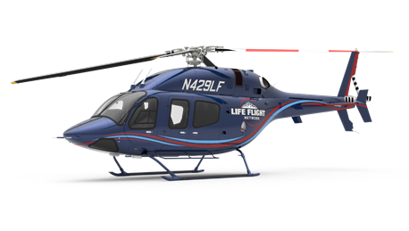 The agreement is for four Bell 429s and four Bell 407GXis. Bell Image