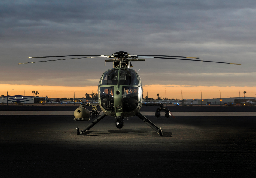 MDHI is to deliver next-generation weapons and mission management capabilities to its MD 530G Block II (BII) Scout Attack Helicopter. MD Helicopters Photo