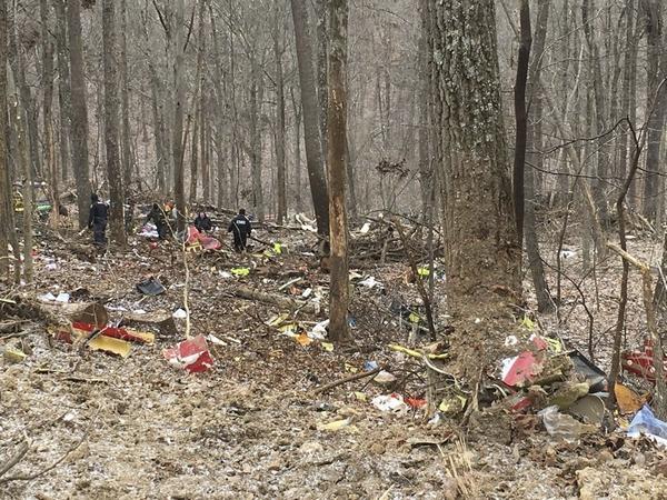 Survival Flight crash site