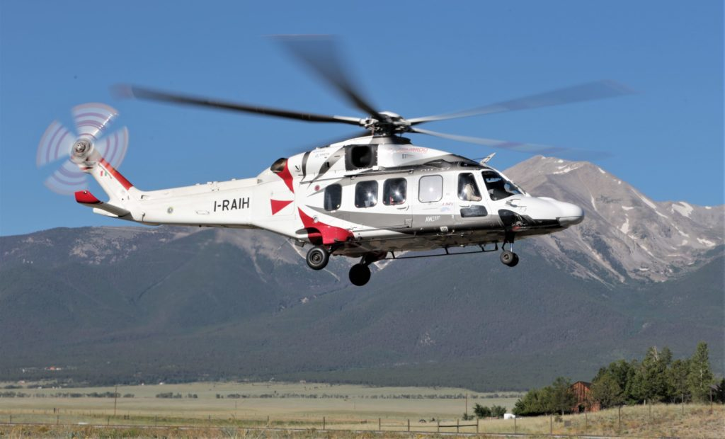 The AW189K is an all new variant of the successful AW189 super medium helicopter, with modern Safran Helicopter Engines Aneto-1K, to offer high performance across geographies and for various roles. Leonardo Photo
