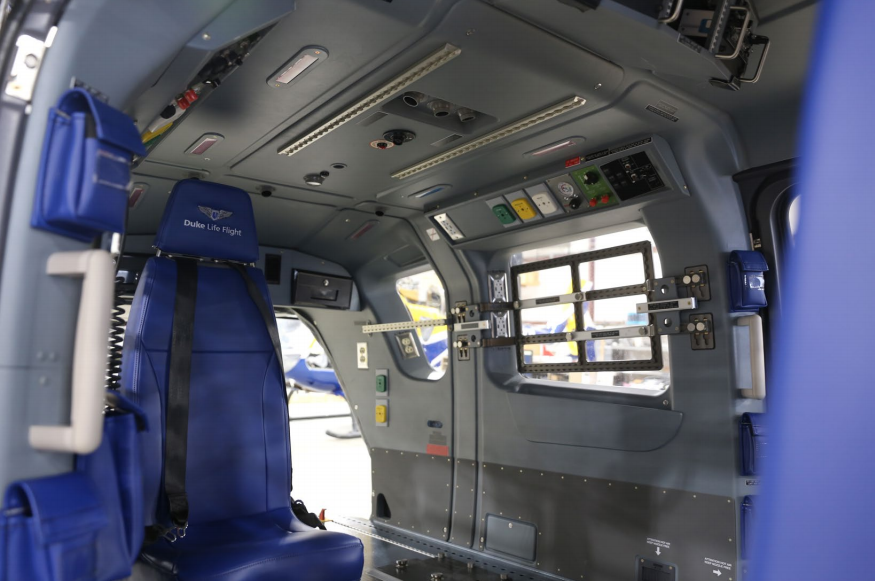 Similar to many Metro clients, the Duke team opted for Metro's standard medical interior. Metro Aviation Photo