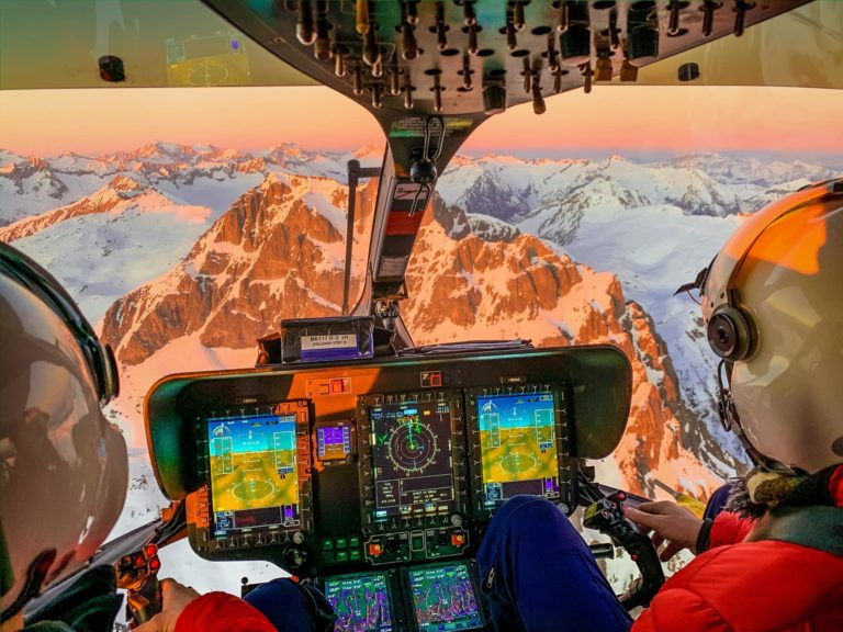Airbus H145 rescue mission in the Alps. Photo submitted by Alberto Betto