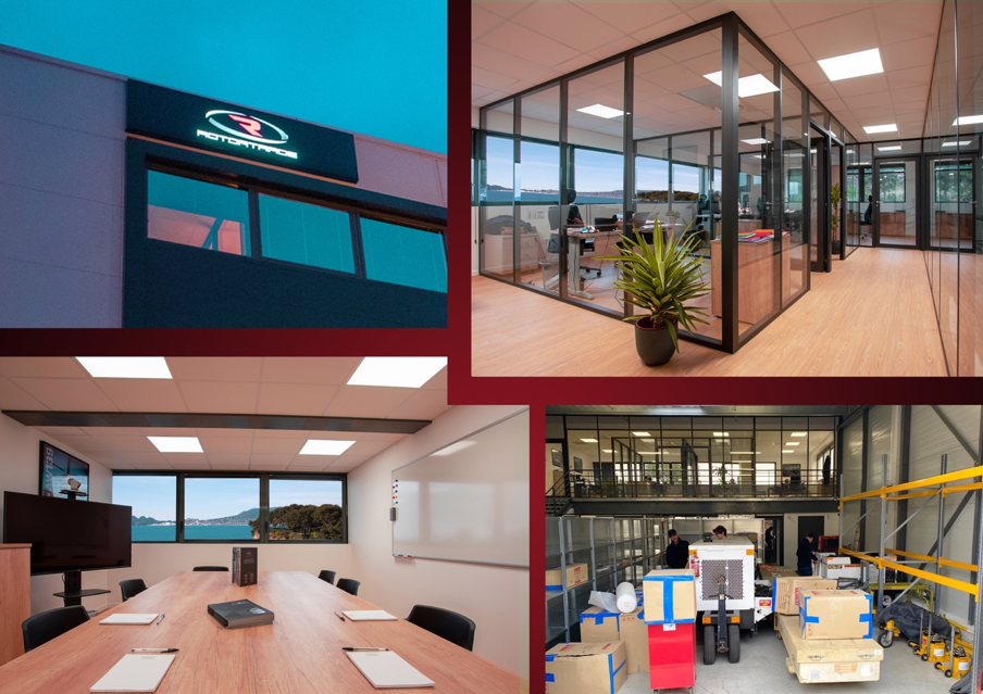 Rotortrade's new office in Marseilles, France. Rotortrade Image