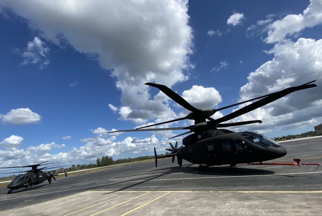 SB>1 Defiant and S-97 Raider helicopters