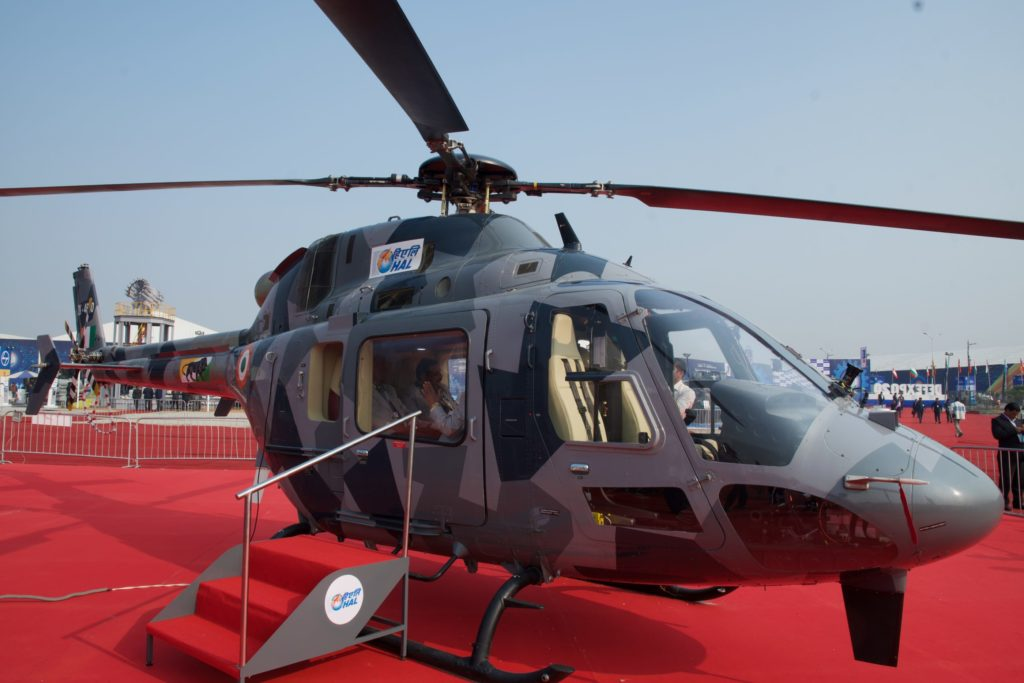 HAL's Light Utility Helicopter has received initial operational clearance for military use, but the aircraft may also find a home in the civilian sector. HAL Photo