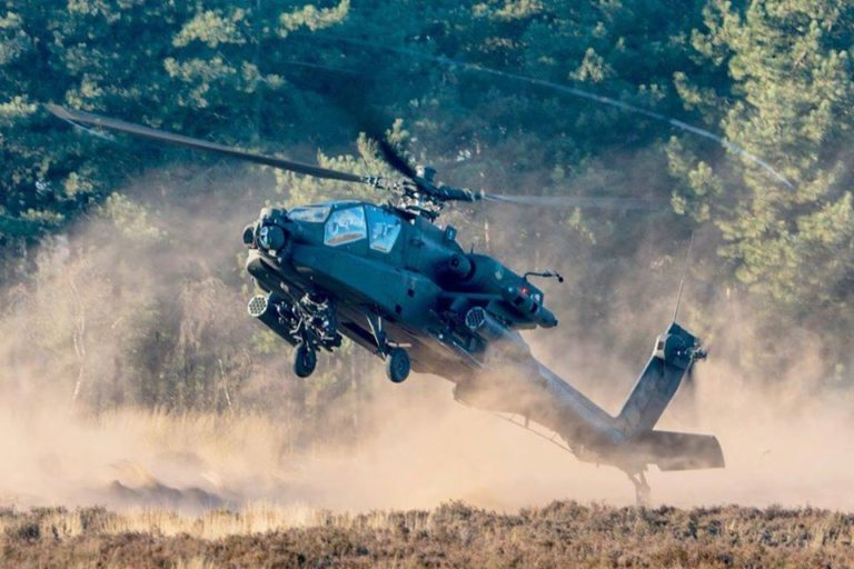 Royal Netherlands Air Force Boeing AH-64 Apache. Photo submitted by Instagram user @marruk8865 using #verticalmag