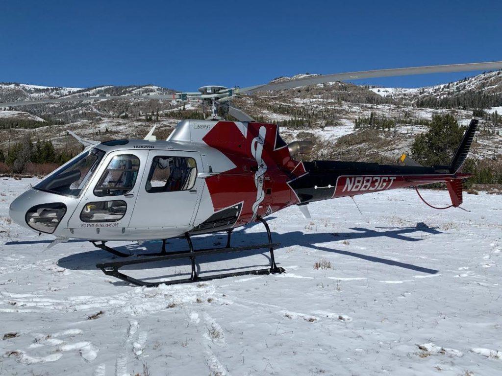 A Guardian Flight Alaska medically equipped  Airbus H125. Guardian Flight Alaska Photo