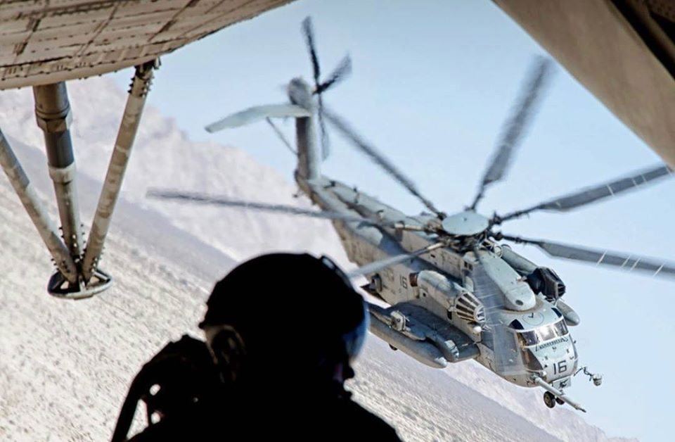 U.S. Marine Corps CH-53 Super Stallion. Photo taken by Instagram user @ottosenphotography, submitted by IG user @patriot_ops using #verticalmag