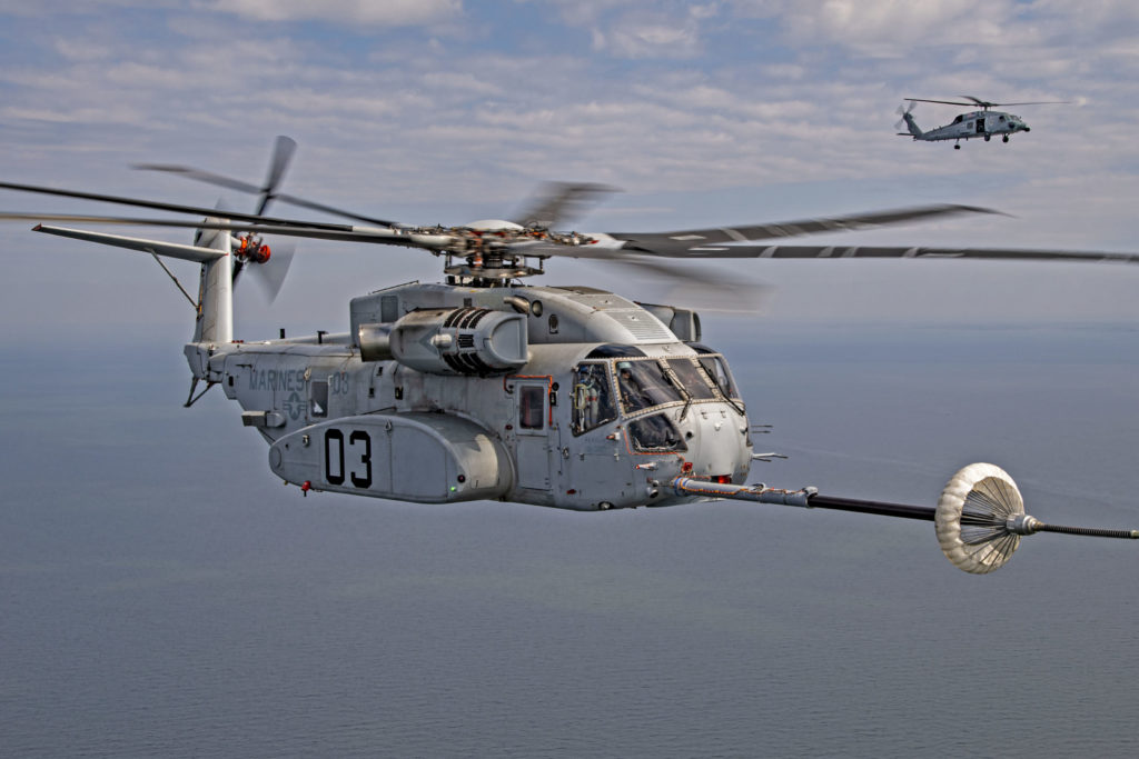 CH-53K aerial refueling