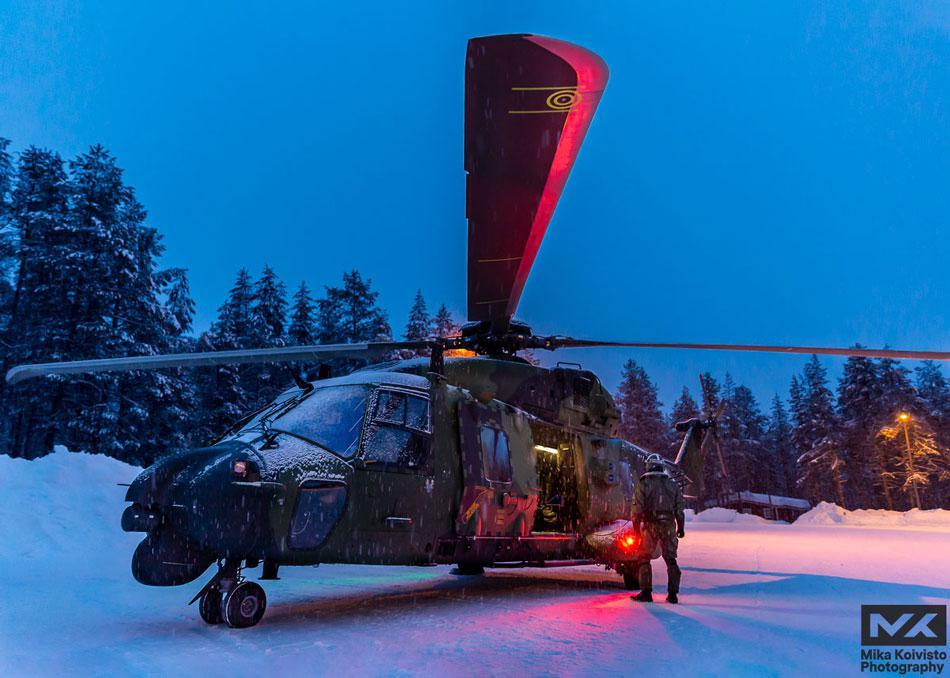 Finnish Air Force NH90. Photo submitted by Mika Koivisto (Instagram user @mika_koivisto_photography) using #verticalmag