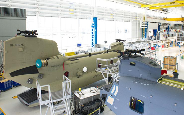 Boeing Philadelphia factory
