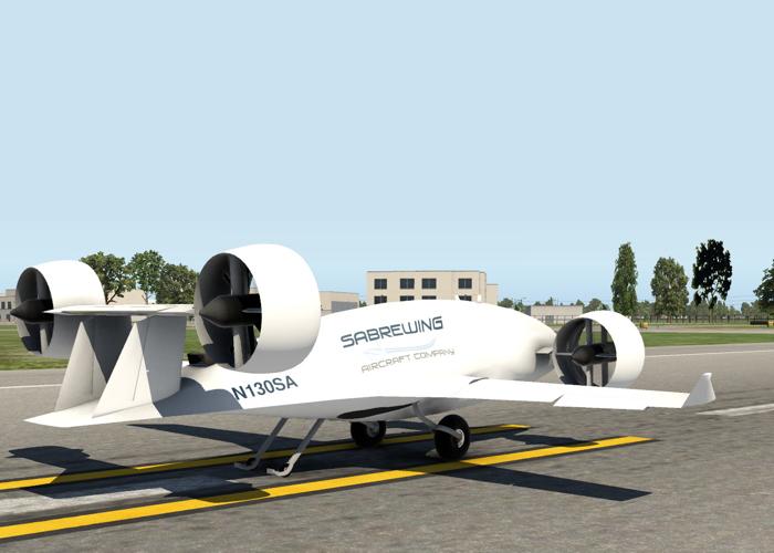 Sabrewing Rhaegal-A cargo drone Agility Prime