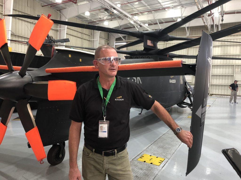 Sikorsky test pilot Bill Fell