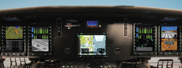 Certification is nearing completion for the modernization of Black Hawks by XP Services. Genesys Aerosystems Photo