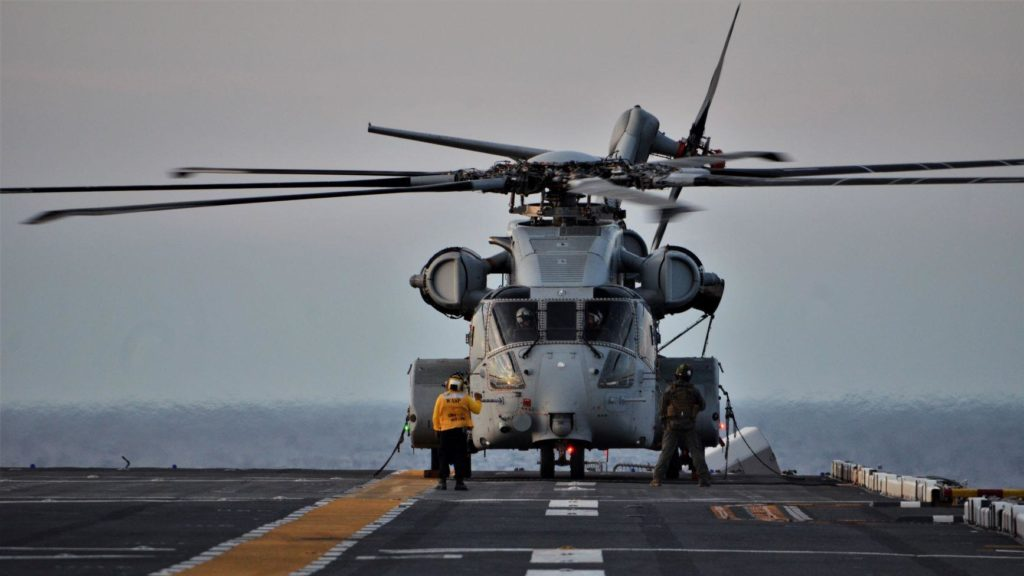 CH-53K sea trials
