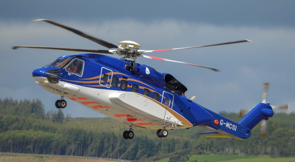 Babcock will be flying a mix of S-92s and H175s from Aberdeen, Scotland, under a new contract with Total. Babcock Photo