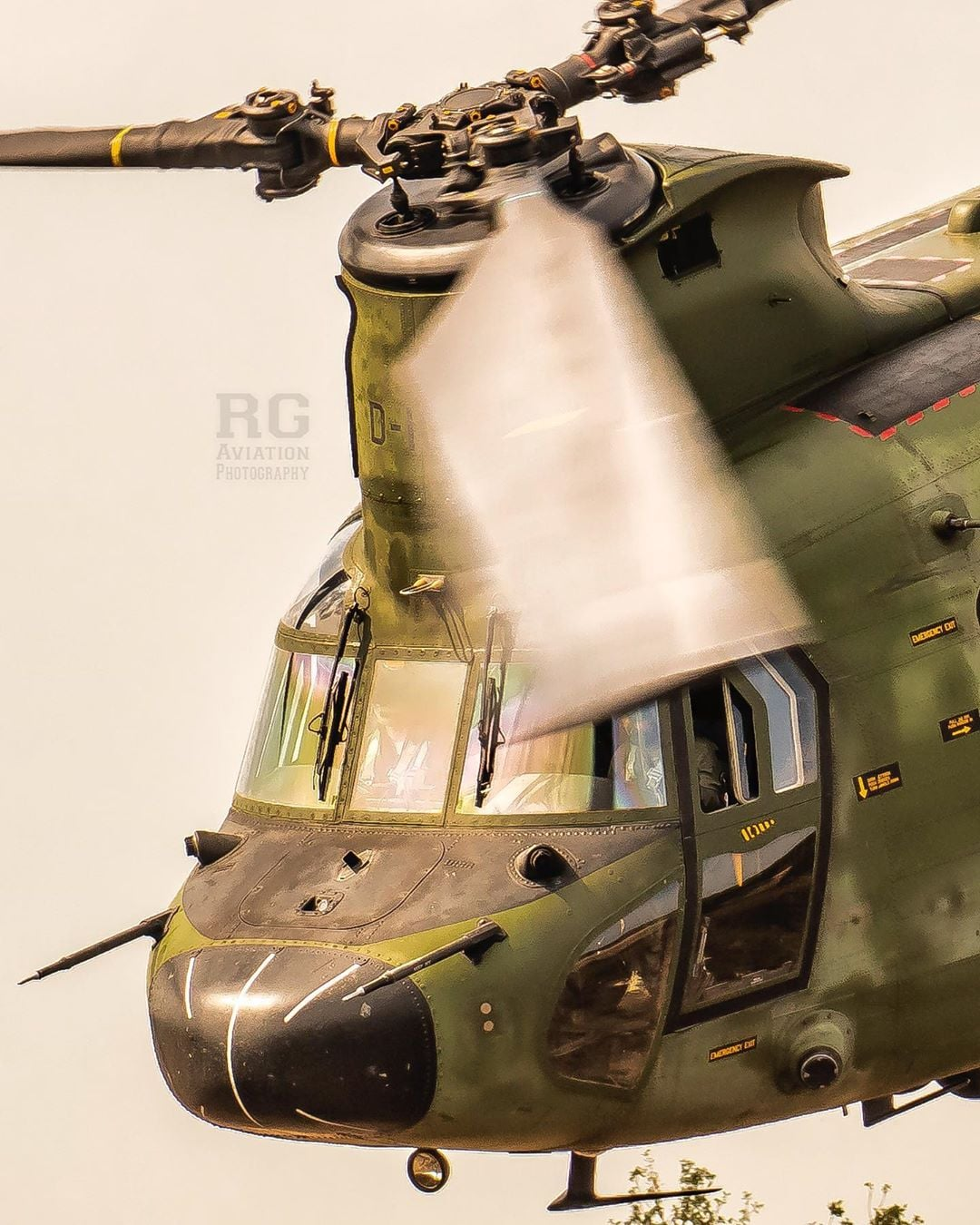 Close-up of a Royal Netherlands Air Force Boeing CH-47 Chinook. Photo submitted by Richard George (Instagram user @rg___av) using #verticalmag