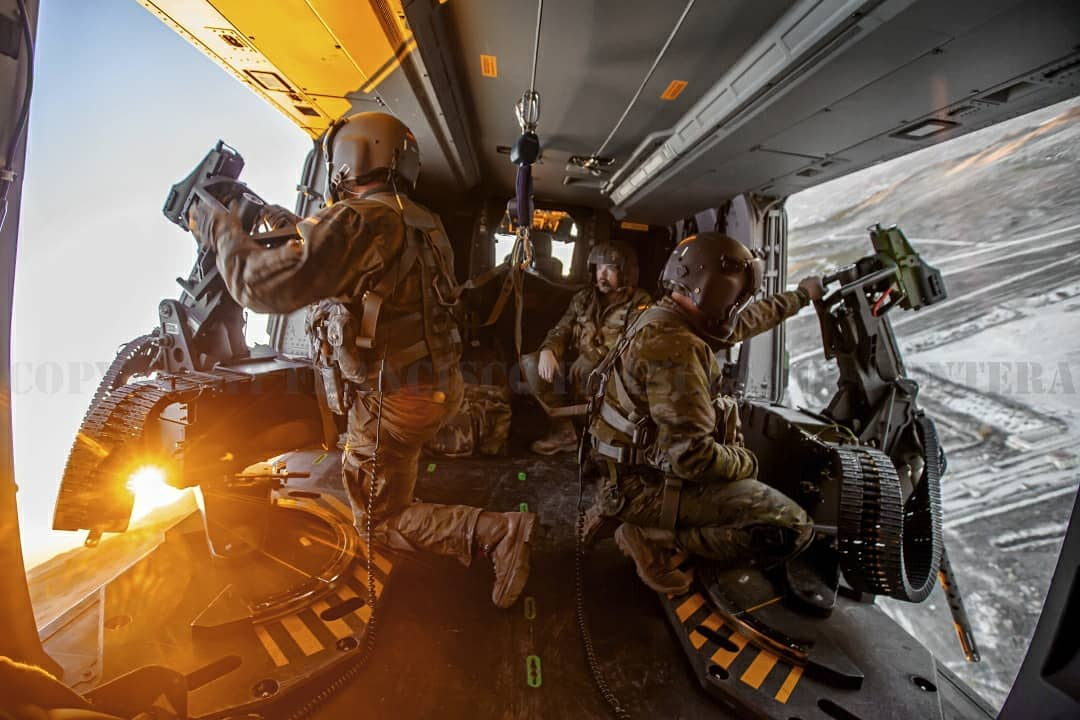 Onboard with the door gunners of a Spanish Army NHIndustries NH90. Photo submitted by Francisco Frances Torrontera (Instagram user @franciscofrancestorrontera) using #verticalmag