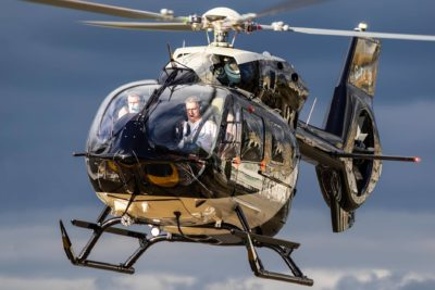 An Airbus H145 arrives at London West Heliport in the U.K. Danny Nixon Photo