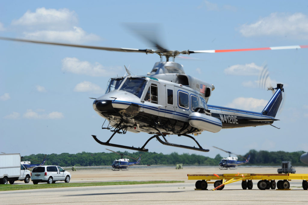 NNSA helicopter