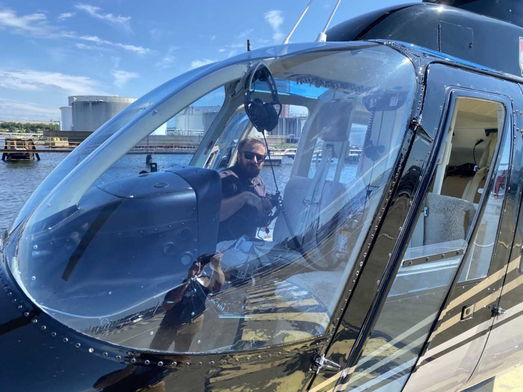 Charmed By Baltimore Behind The Scenes At Charm City Helicopters Vertical Mag