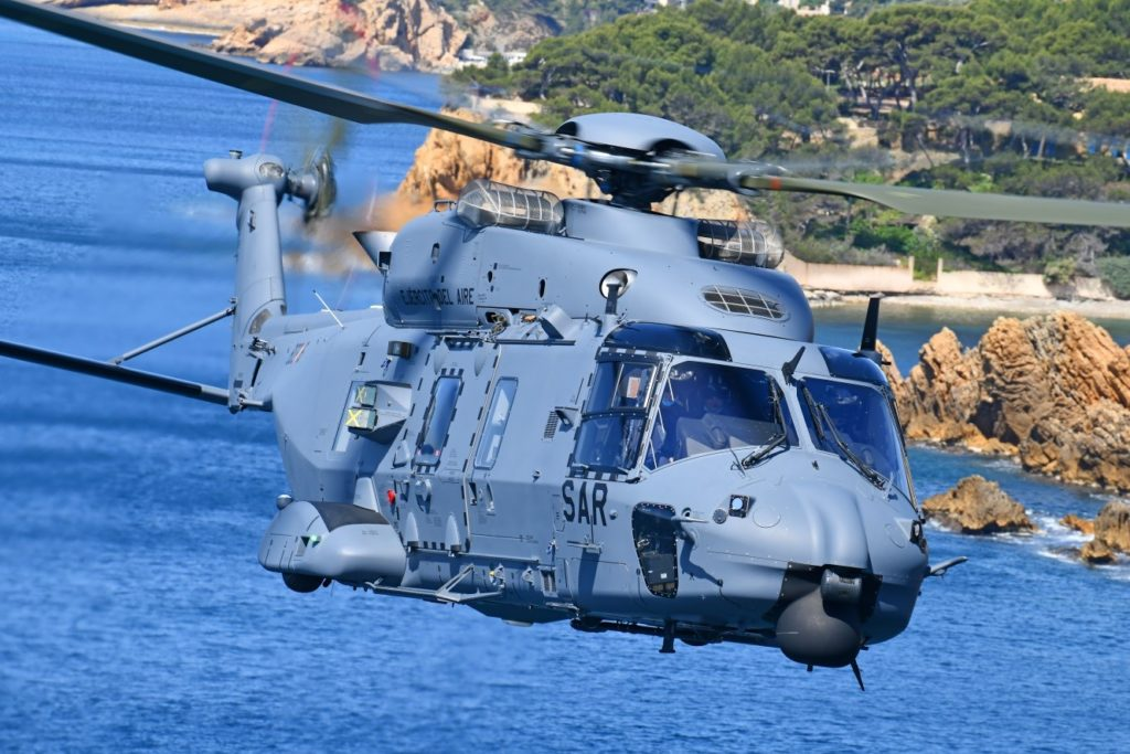 First NH90 delivered to the Spanish Air Force for SAR missions - Vertical  Mag