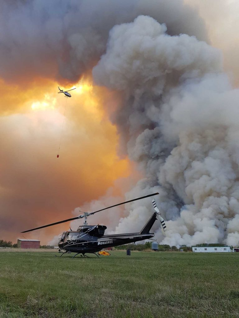 Up to mid-September, under 240,000 hectares of land had been burned during this year's fire season in Canada, compared to 1.8 million hectares in 2019.