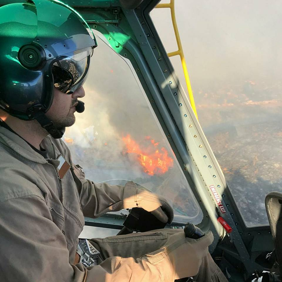 Helicopter Express firefighting in Chile