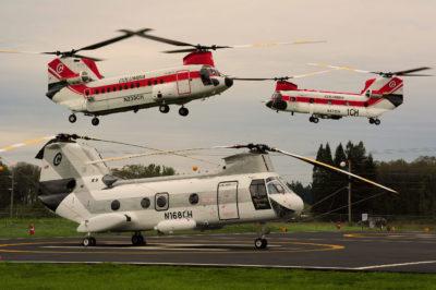 Columbia Helicopters fleet