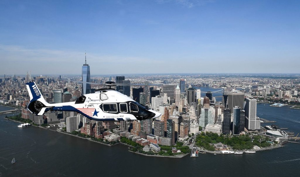 Bookings have continued coming in for the H160, which is set to be certified by the FAA in early 2021. Airbus Photo