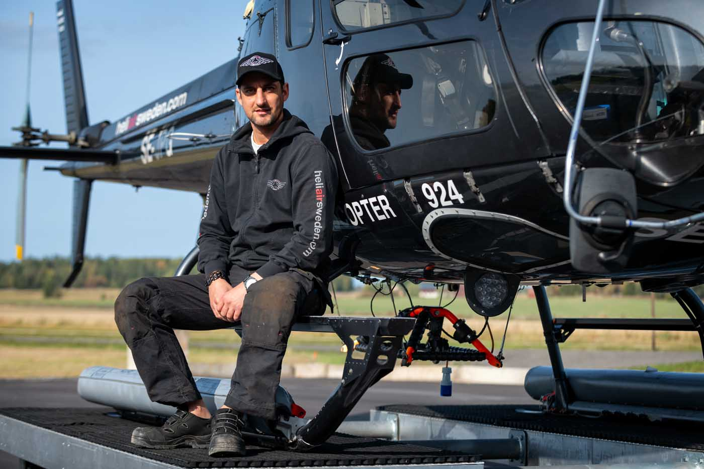 HeliAir Sweden has grown every year in the decade it has been operating commercially, a feat its founder says is all down to team spirit.