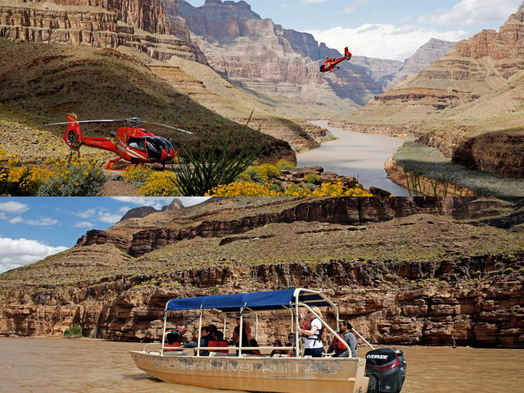 Papillon helicopter pontoon tours
