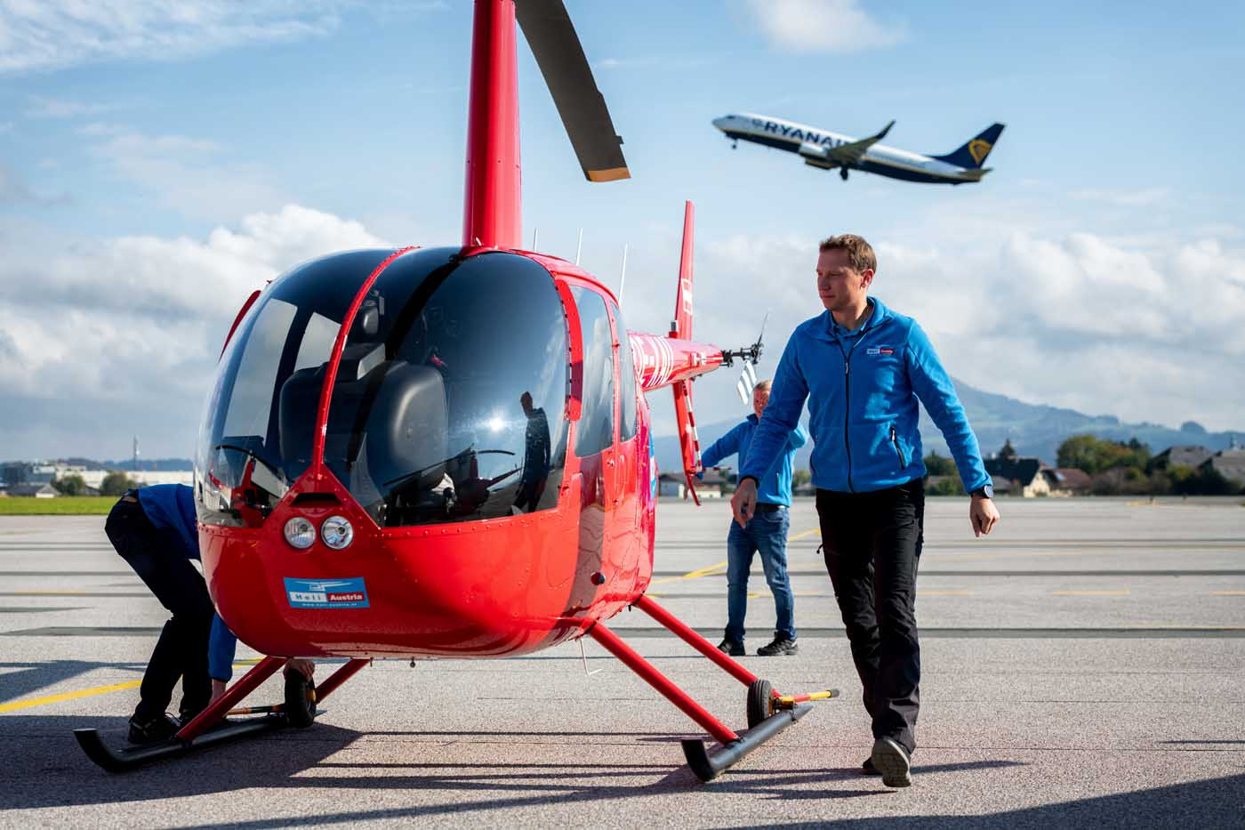 Training at Heli Austria Flight Academy