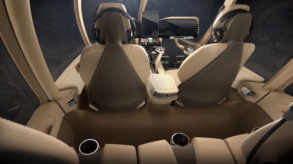 HX50 interior concept