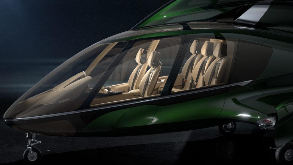 Hill Helicopters HX50 interior
