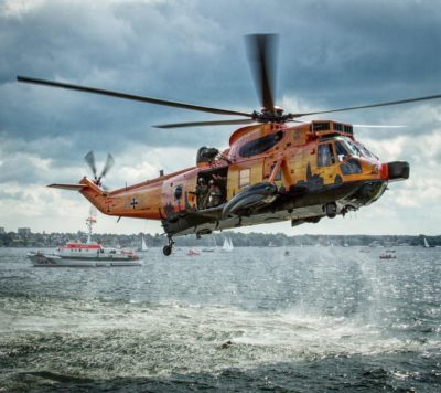 German Navy Sea King in special livery. Photo submitted by Instagram user @aviationmedia_tomziegler using #verticalmag