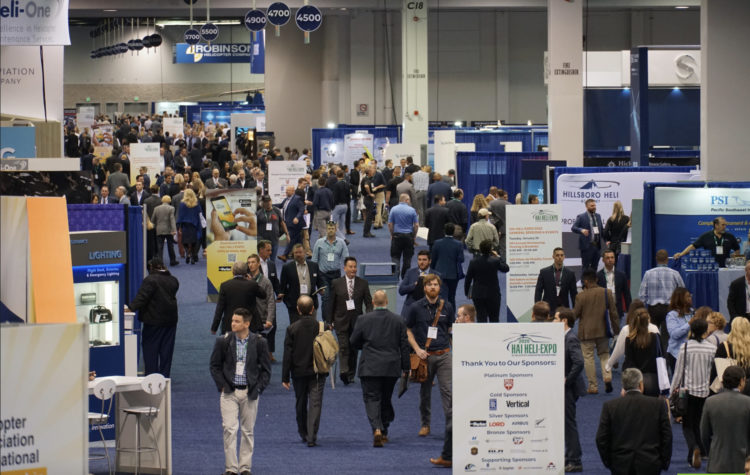 HAI Heli-Expo 2020 took place in Anaheim, California, at the end of January 2020 -- just weeks before the Covid-19 pandemic resulted in government lockdowns around the world. Rob Reyno Photo