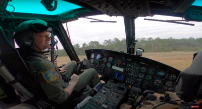USAF Test Pilot School Huey