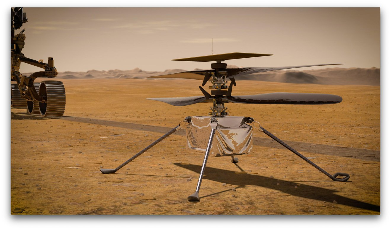 6 things to know about NASA's Mars helicopter on its way to Mars - Vertical Mag