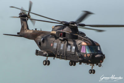 Italian Air Force Leonardo HH-101A Caesar. Photo submitted by Alessandro Ganeo via Facebook
