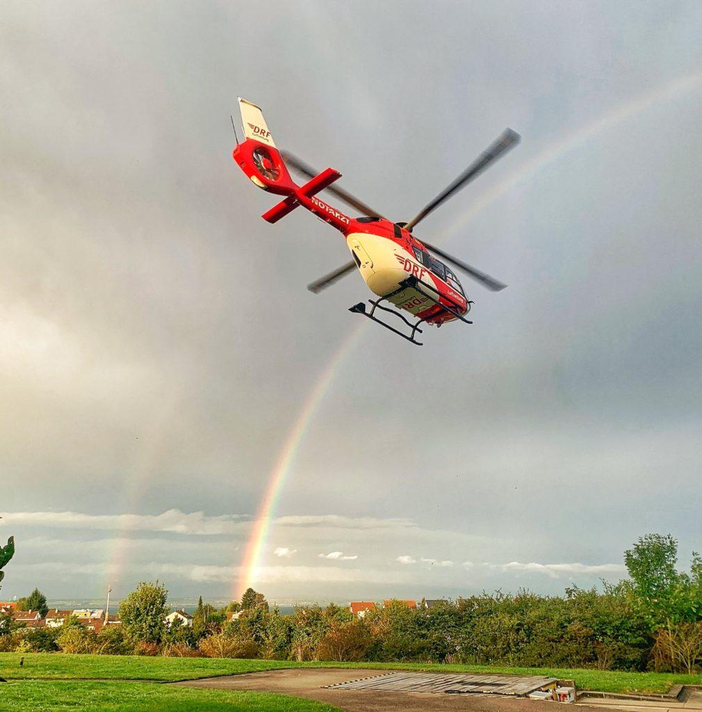 DRF Luftrettung rainbow