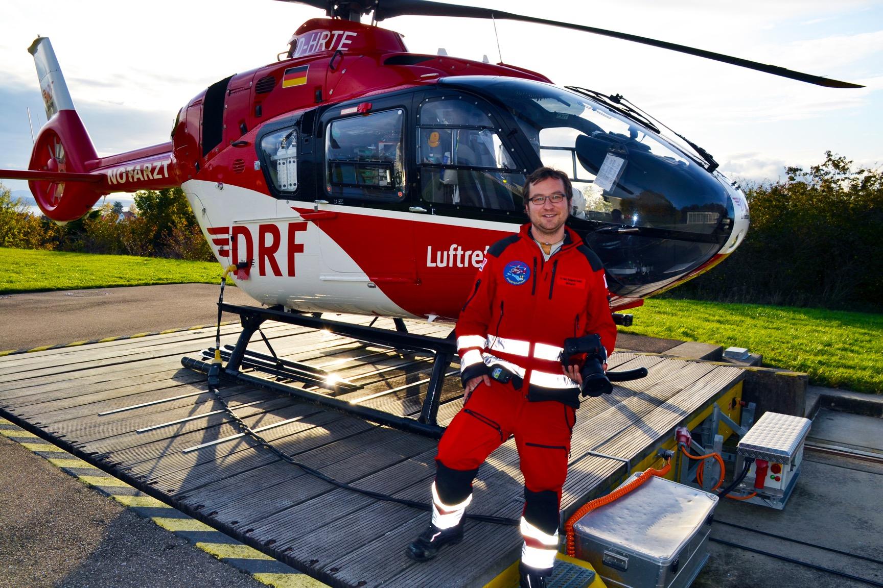 Dr. Benjamin Kober - DRF Luftrettung
