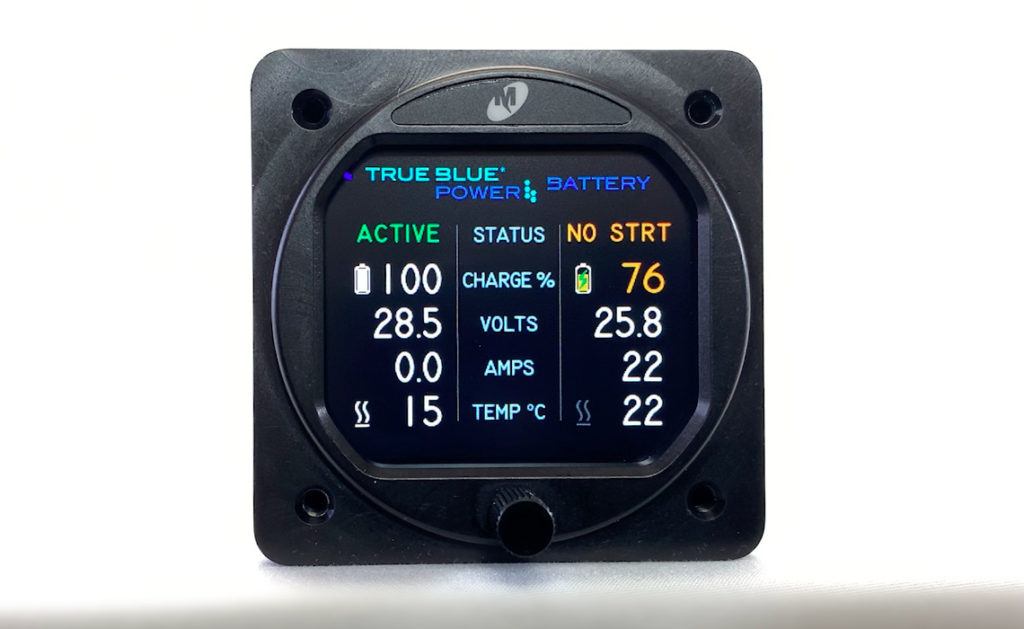 True Blue Power Battery Display