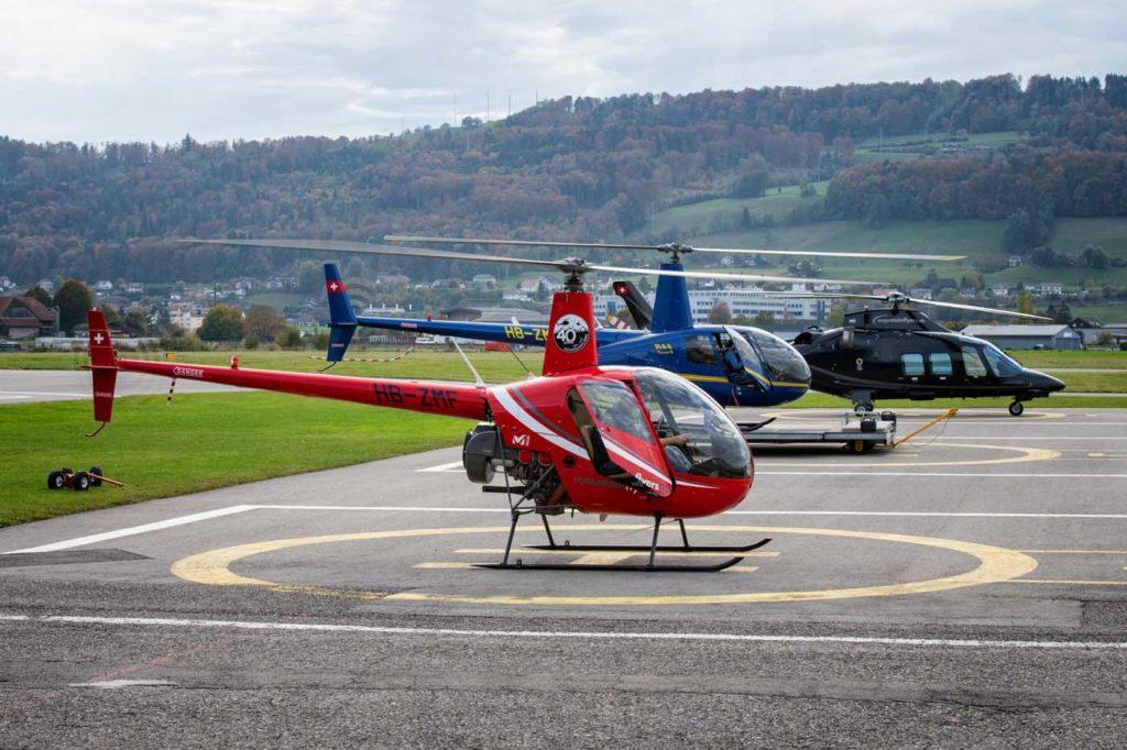 Mountainflyers helicopter fleet