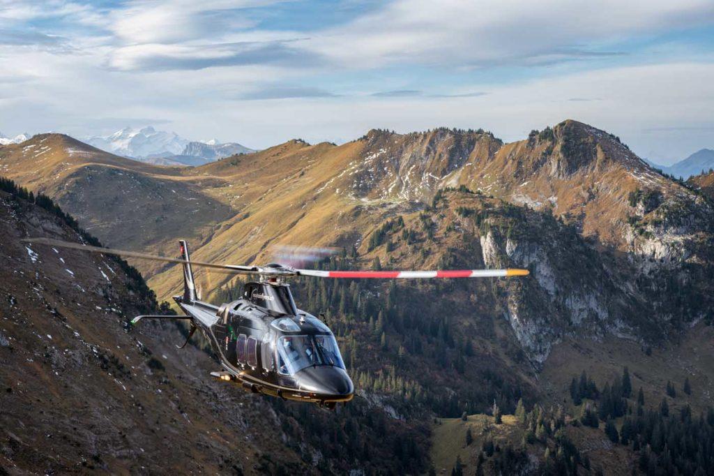 Leonardo AW109 Switzerland