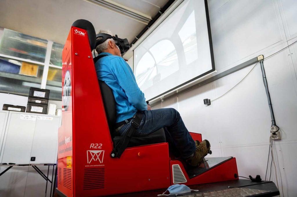 VRM-Switzerland simulator