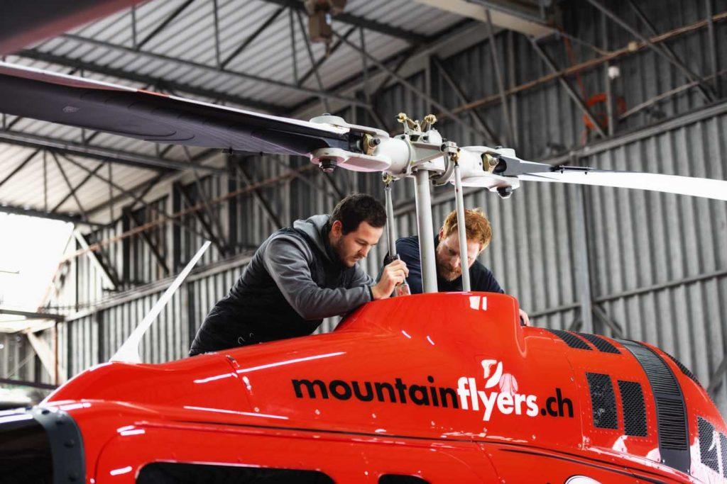 Bell 505 inspection
