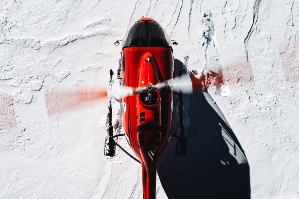 Bell 505 overhead