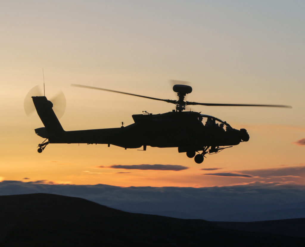 Where the Army budget included funding for 50 remanufactured AH-64E Apache helicopters in the current fiscal year, it plans to buy 30 next year and no new build AH-64Es. U.S. Army photo by Capt. Kyle Abraham
